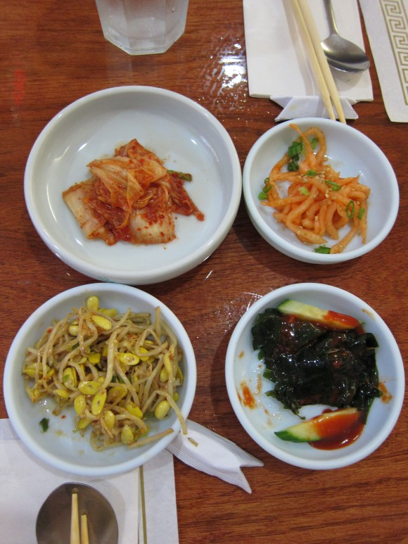 Typical side dishes